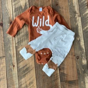 Cute fox 12-18 month outfit